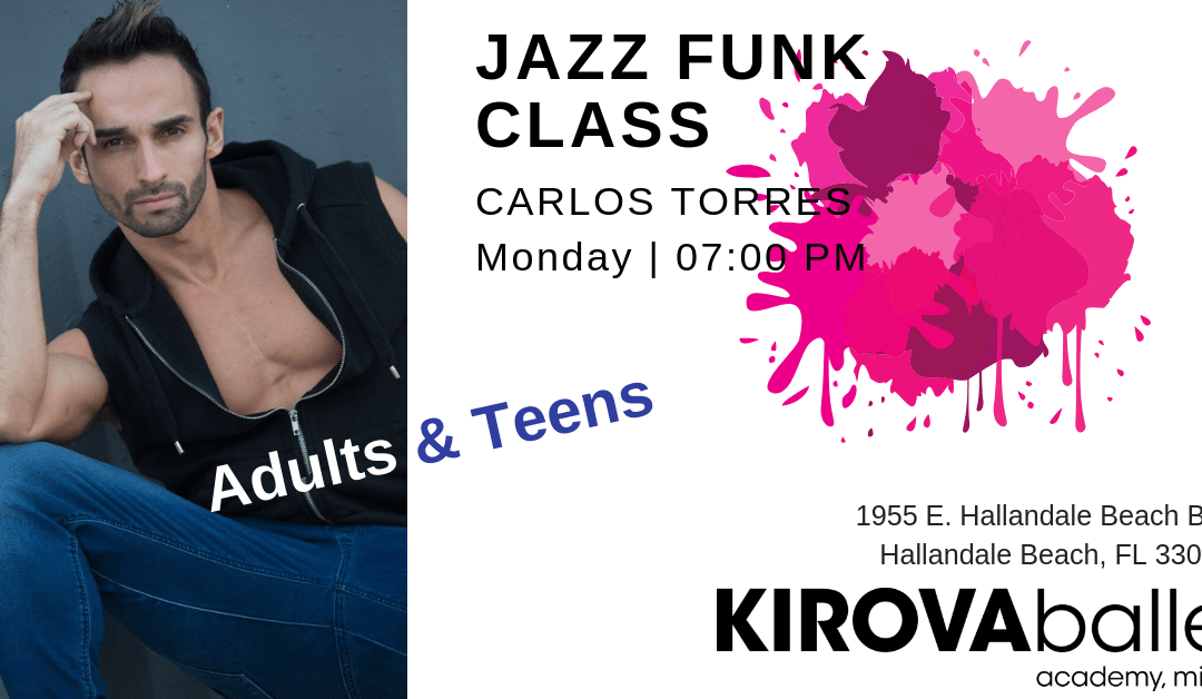 JAZZ funk dance class for adults
