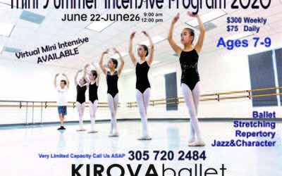 Summer Mini Intensive 2020