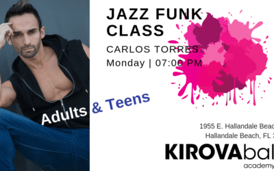 New amazing fun energy Jazz Funk dance class for adults